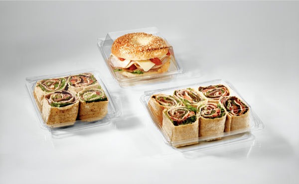 Tamper Evident Sandwich Containers